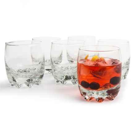 Bormioli Rocco Galassia Juice Glasses - 6.5 fl.oz., Set of 6 in Clear - Closeouts