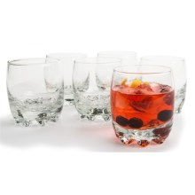 Bormioli Rocco Galassia Juice Glasses - 6.5 fl.oz., Set of 6 in Clear - Overstock