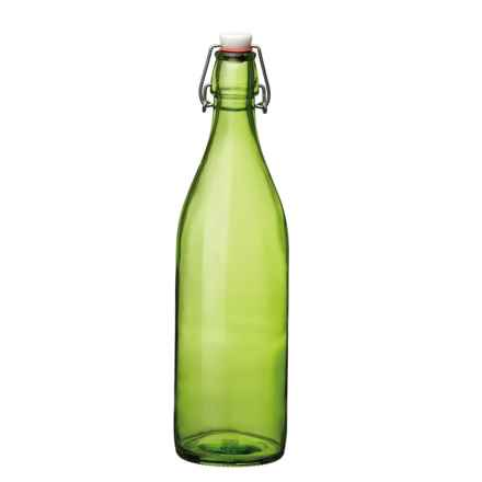 Bormioli Rocco Giara Bottle - 1.0 Liter in Green - Overstock