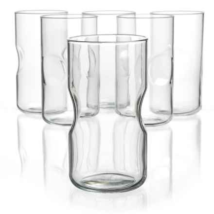 Bormioli Rocco Giove Cooler Glasses - Set of 6 in Clear - Overstock
