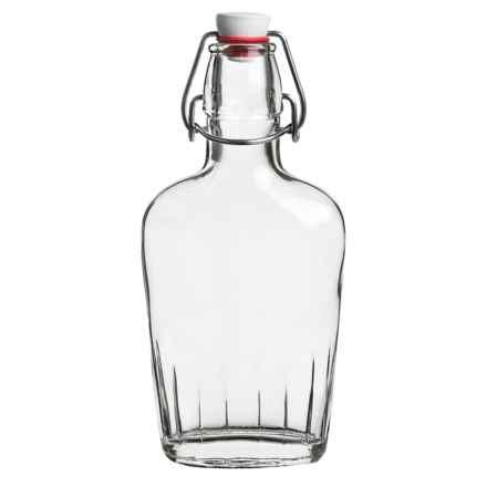 Bormioli Rocco Glass Pocket Flask - 8.5 fl.oz. in Clear - Closeouts