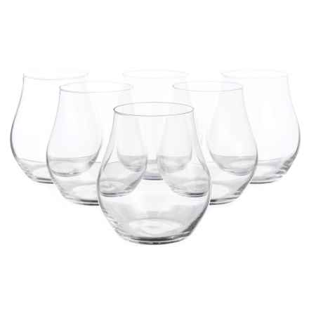 Bormioli Rocco Inalto Arte Stemless Glasses - 16.5 fl.oz., Set of 6 in See Photo - Closeouts