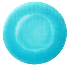 Bormioli Rocco Inca Glass Charger Plate in Blue - Closeouts