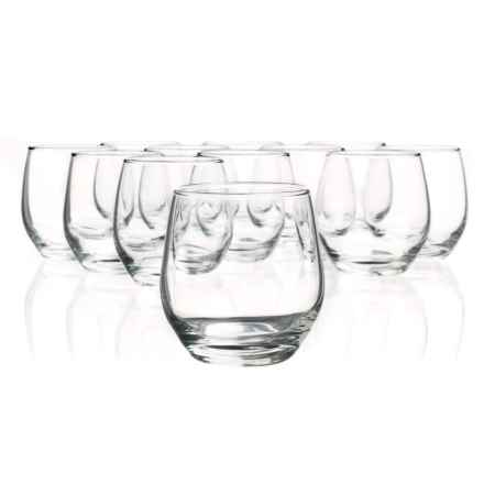 Bormioli Rocco Kalix Rocks Glasses - 10.25 fl.oz., Set of 12 in Clear - Overstock