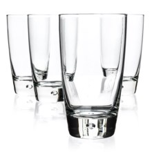 Bormioli Rocco Luna Cooler Glasses - 15.25 fl.oz., Set of 4 in Clear - Closeouts