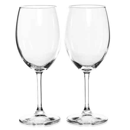 Bormioli Rocco Momenti Red Wine Glasses - 18.25 fl.oz., Set of 2 in Clear - Closeouts
