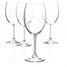 Bormioli Rocco Momenti Red Wine Glasses - Crystal, Set of 4 in Clear - Closeouts