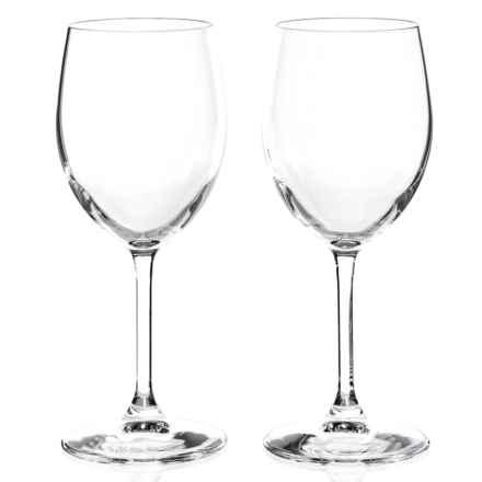 Bormioli Rocco Momenti White Wine Glasses - 13.5 fl.oz., Set of 2 in Clear - Closeouts