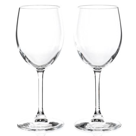 Bormioli Rocco Momenti White Wine Glasses - 13.5 fl.oz., Set of 2 in Clear