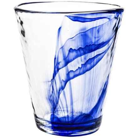 Bormioli Rocco Murano Blue Long Drinking Glass - 14.875 fl.oz. in Blue - Closeouts