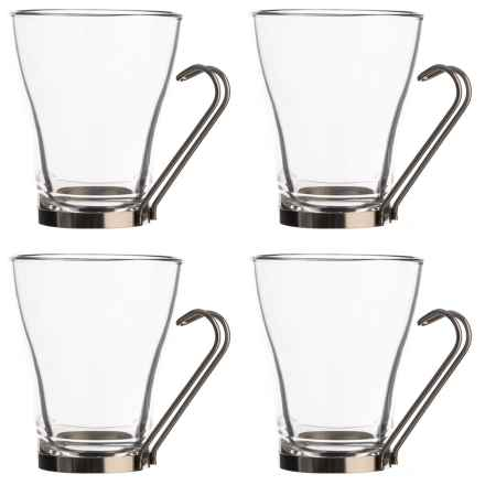 Bormioli Rocco Oslo Cafe Glasses - 11 oz., Set of 4 in Clear - Closeouts