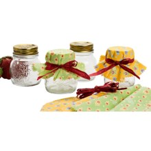 Bormioli Rocco Quattro Stagioni Canning Jar Set - 4-Piece, 5 fl.oz. in Clear - Closeouts