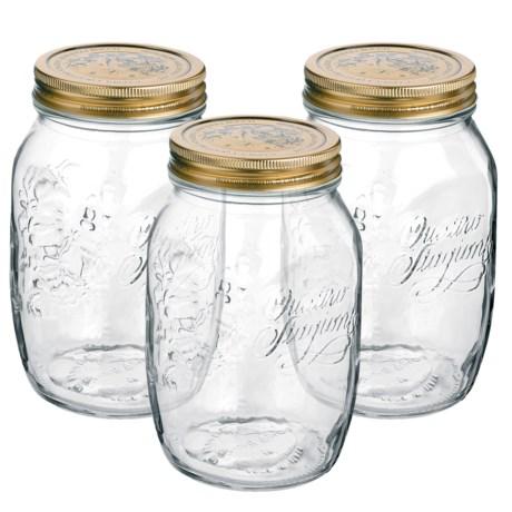 Bormioli Rocco Quattro Stagioni Canning Jars - 3-Piece Set