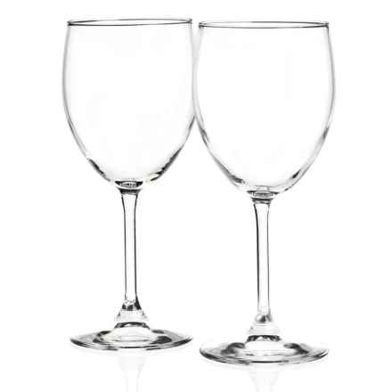Bormioli Rocco Restaurant Bordeaux Wine Glasses - Set of 2 in Clear - Closeouts