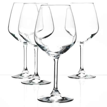 Bormioli Rocco Restaurant Red Wine Glasses - Set of 4 in Clear - Closeouts