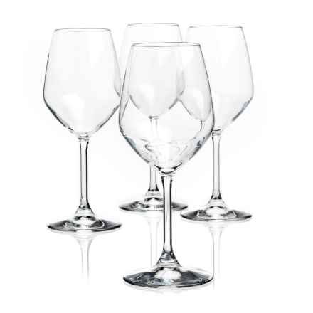 Bormioli Rocco Restaurant White Wine Glasses - Crystal, Set of 4 in Clear - Overstock