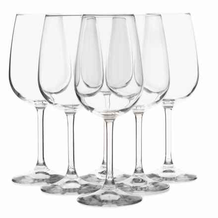 Bormioli Rocco Riserva Bordeaux Wine Glasses - Set of 6, 18.5 oz. in Clear - Overstock