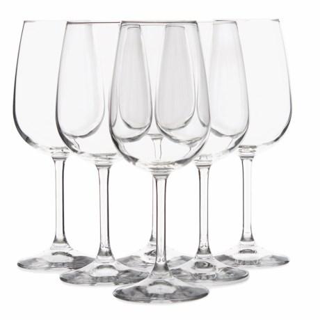 Bormioli Rocco Riserva Bordeaux Wine Glasses - Set of 6, 18.5 oz. in Clear