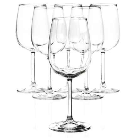 Bormioli Rocco Riserva Red Wine Glasses - Set of 6 in Clear - Closeouts