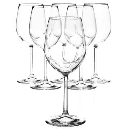 Bormioli Rocco Riserva White Wine Glasses - Set of 6 in Clear - Closeouts
