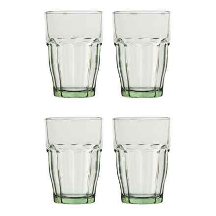 Bormioli Rocco Rock Bar Lounge Glasses - 12.5 oz., Set of 4 in Mint - Closeouts