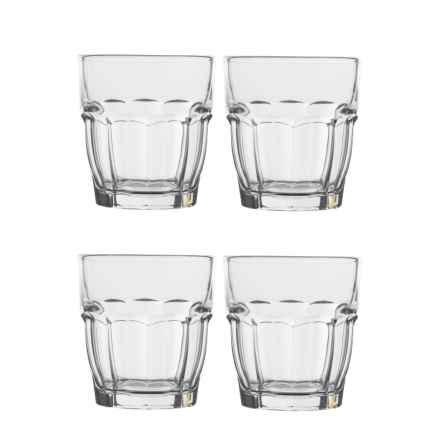 Bormioli Rocco Rock Bar Lounge Glasses - 9.25 oz., Set of 4 in Clear - Closeouts
