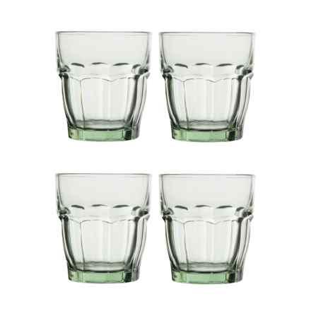 Bormioli Rocco Rock Bar Lounge Glasses - 9.25 oz., Set of 4 in Mint - Closeouts