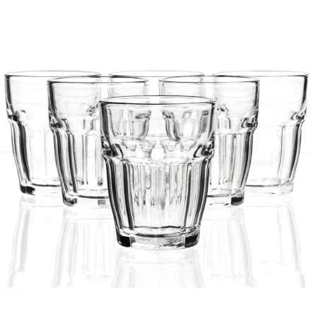 Bormioli Rocco Rock Bar One Shot Glasses - Set of 6 in Clear - Closeouts