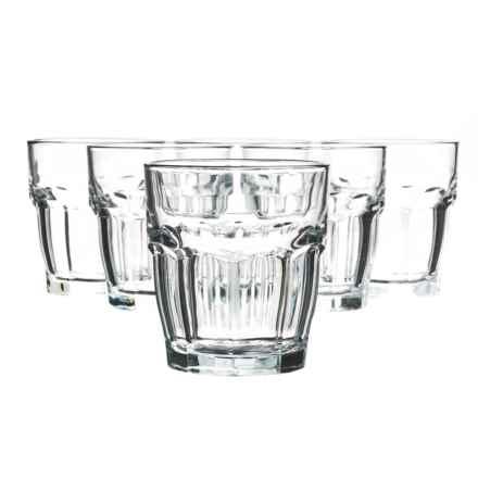 Bormioli Rocco Rock Bar Rocks Glasses - 9 fl.oz., Set of 6 in Clear - Closeouts