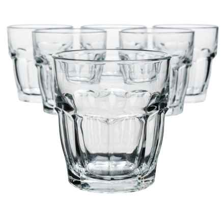 Bormioli Rocco Rock Bar Rocks Glasses - Set of 6 in Clear - Overstock