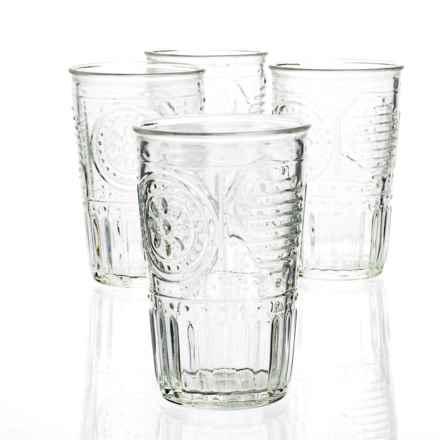 Bormioli Rocco Romantic Water Glasses - 11 fl.oz., Set of 4 in Clear - Overstock