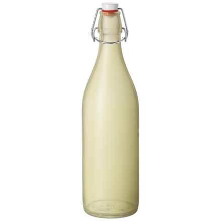 Bormioli Rocco Satin Giara Bottle in Yellow - Overstock