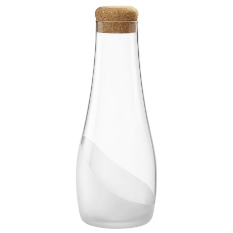 Bormioli Rocco Satin Wave Carafe with Cork - 33 fl.oz.