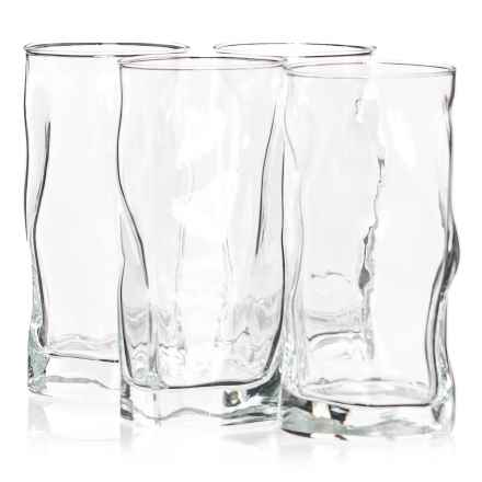 Bormioli Rocco Sorgente Cooler Glasses - 15 fl.oz., Set of 4 in Clear - Closeouts