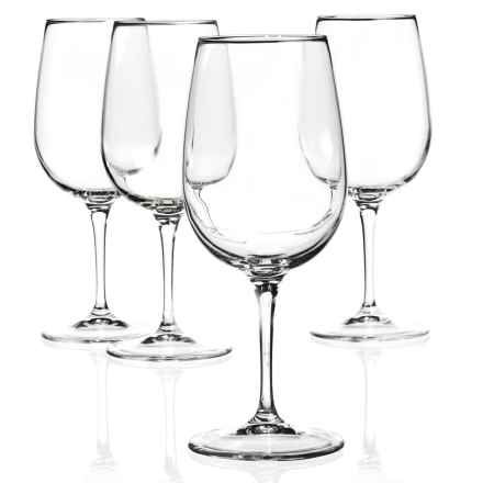 Bormioli Rocco Spazio Medium Wine Glasses - Set of 4 in Clear - Closeouts