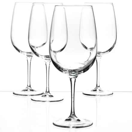 Bormioli Rocco Spazio XL Wine Glasses - Set of 4 in Clear - Closeouts