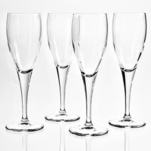 Bormioli Rocco Toscana Champagne Flute Glass - 5.5 fl.oz., Set of 4 in Clear - Overstock