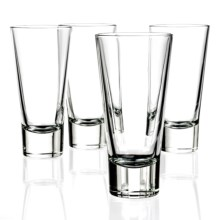 Bormioli Rocco Ypsilon Long Drink Hi-Ball Glasses - 11 fl.oz., Set of 4 in Clear - Closeouts