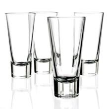 Bormioli Rocco Ypsilon Long Drink Hi-Ball Glasses - 11 fl.oz., Set of 4 in Clear - Closeouts