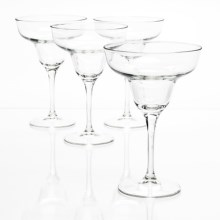 Bormioli Rocco Ypsilon Margarita Glasses - Set of 4 in Clear - Closeouts