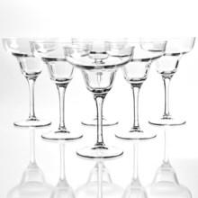 Bormioli Rocco Ypsilon Margarita Glasses - Set of 6 in Clear - Overstock