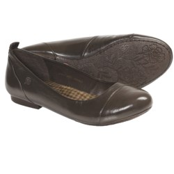 Born Annibell Shoes - Leather, Slip-Ons (For Women) in Espresso