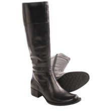 Born Asbee Leather Boots (For Women) in Black Full Grain - Closeouts