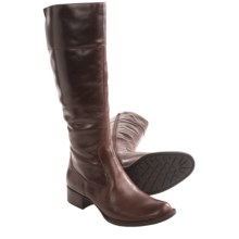 Born Asbee Leather Boots (For Women) in Brown Full Grain - Closeouts