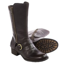 Born Aubra Leather Boots (For Women) in Mahogany Full Grain - Closeouts
