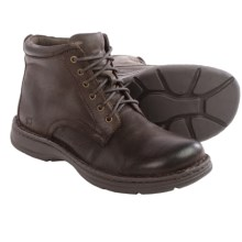 Born Axe II Leather Boots (For Men) in Dark Brown Distressed Full Grain - Closeouts