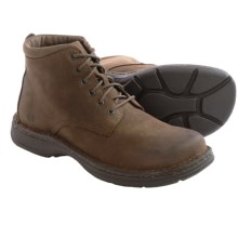 Born Axe II Leather Boots (For Men) in Grey Ironstone Nubuck - Closeouts