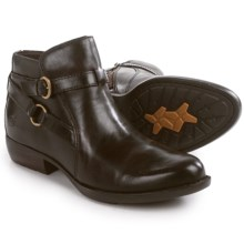 Born Baily Ankle Boots - Leather (For Women) in Mushroom Full Grain - Closeouts