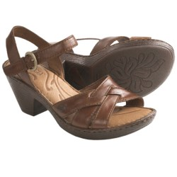 Born Belinda Sandals - Leather (For Women) in Bag Pipe Full Grain