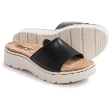 Born Benitez Sandals - Leather (For Women) in Black Full Grain - Closeouts
